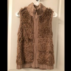 Fenn Wright Manson Fur Sweater Vest